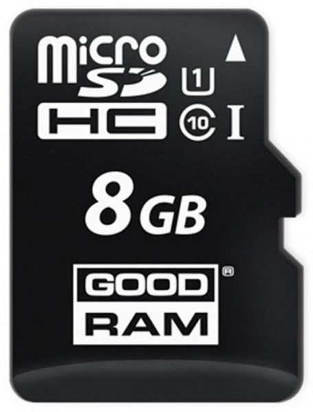 Goodram microSDHC/SDXC class 10 UHS-1 SD adapter 8Gb