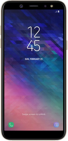 Samsung Galaxy A6 3/32 GB A600F 2018 Gold - фото