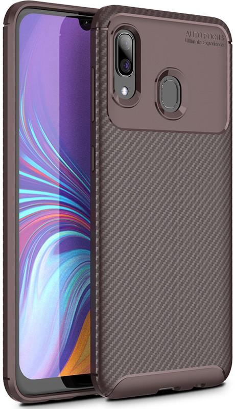 Купить Чехлы для телефонов, TOTO TPU Carbon Fiber 1, 5mm Case Samsung Galaxy M10s Coffee