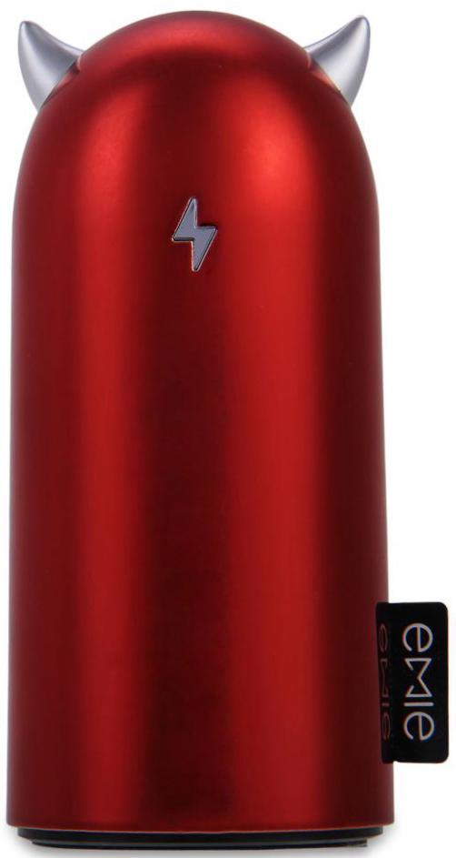 Портативная батарея EMIE Devil Volt S5200 Power Bank 5200 mAh Red - Фото 1