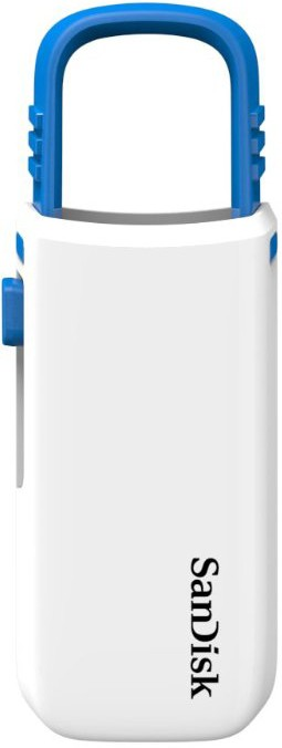 USB Flash SanDisk USB Cruzer U 32Gb White/Blue - Фото 1