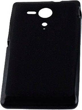 Чехол-накладка Drobak Elastic PU для Sony Xperia SP C5303 Black - Фото 1
