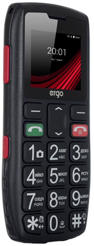 Купить Мобильные телефоны, Ergo F184 Respect Dual Sim Black