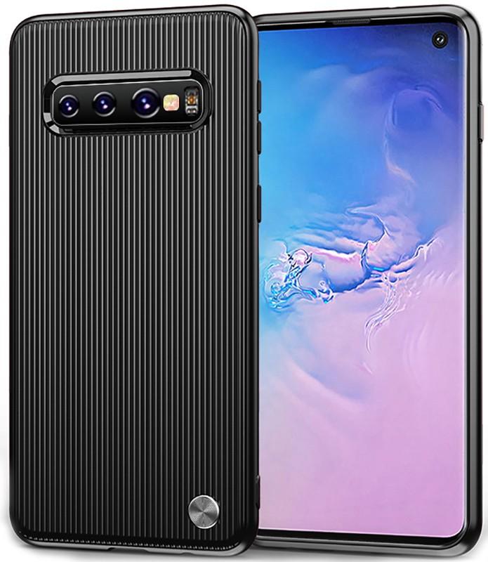 Ipaky Travel Series/Soft TPU Case Samsung Galaxy S10 Black