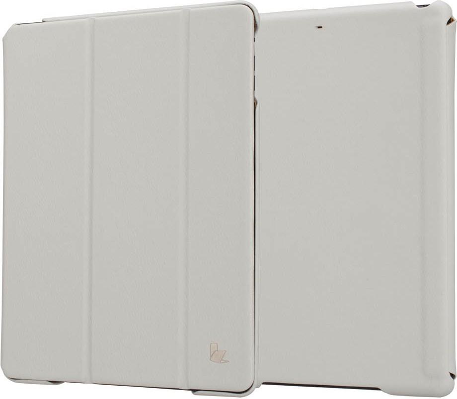 Чехол-книжка JISONCASE Executive Smart Case iPad Air/Air2 White - Фото 1