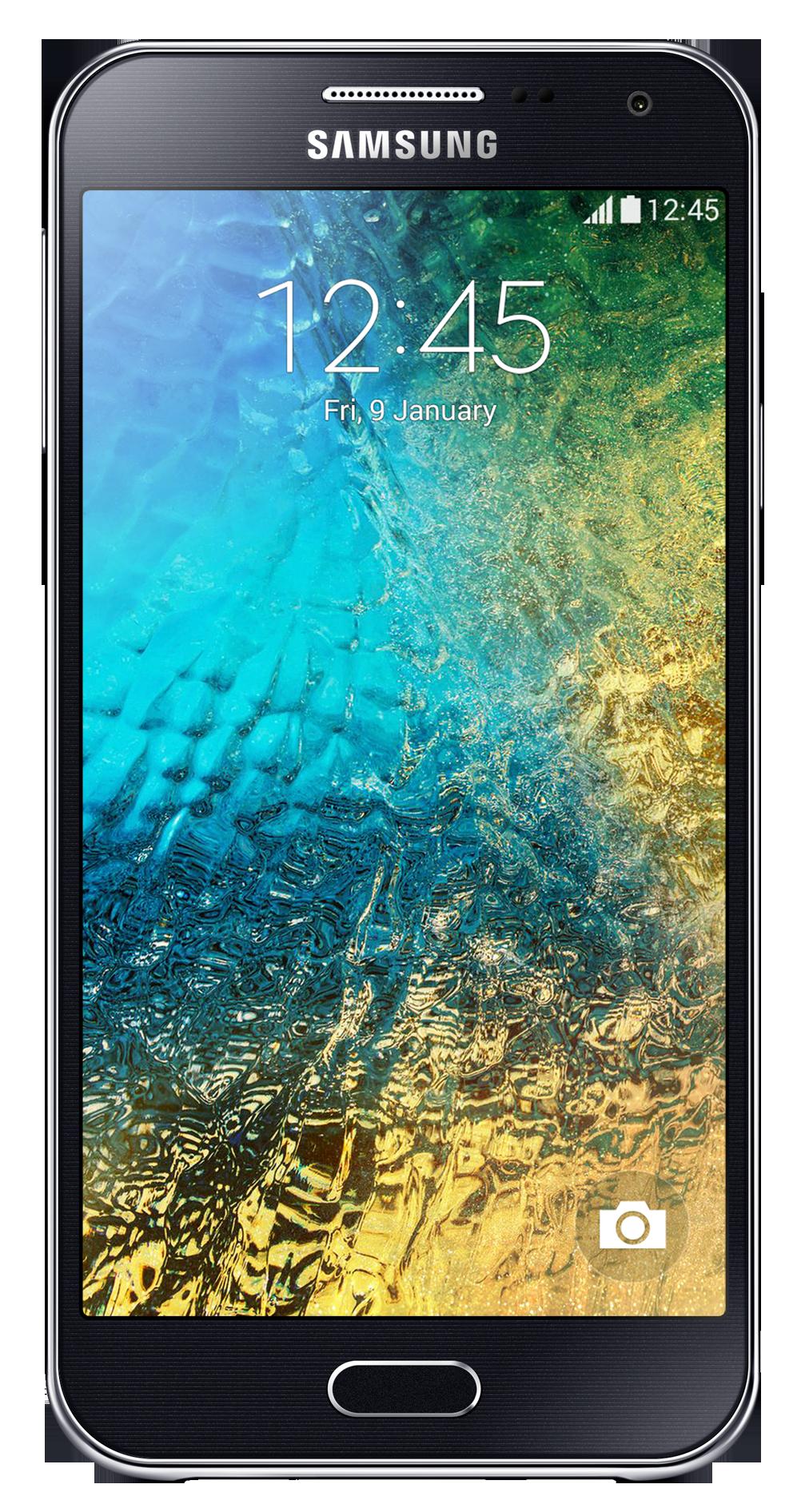 Смартфон Samsung Galaxy E5 E500H Black - Фото 1