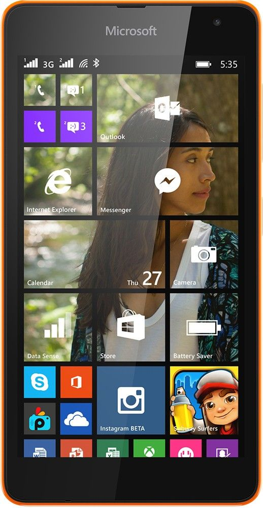 Смартфон Microsoft Lumia 640 Dual SIM Orange - Фото 1