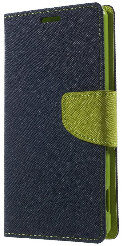 Чехол-книжка TOTO Book Cover Mercury Lenovo A6000 Dark Blue - Фото 1