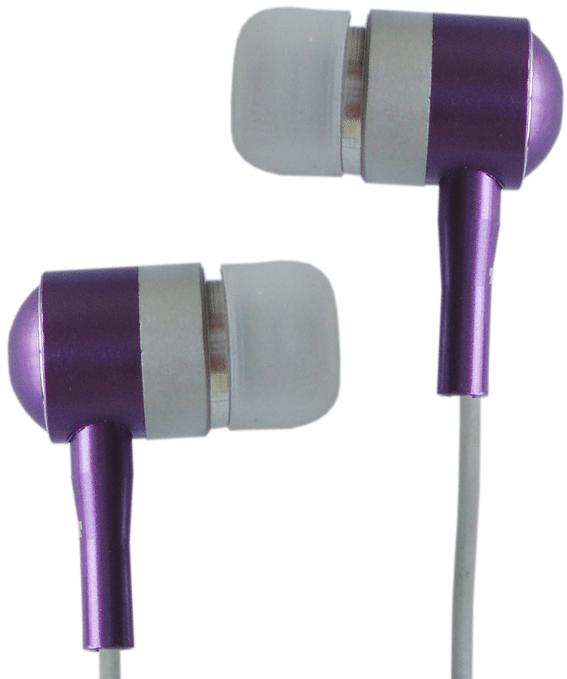 Наушники Avalanche AEF-МР3-110 фиолетовый - Фото 1