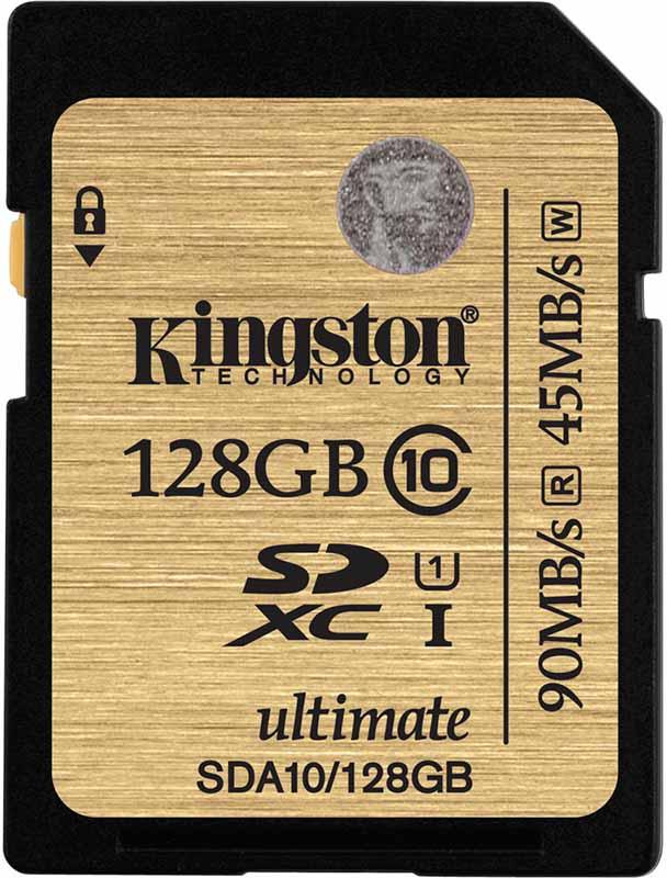 Карта памяти Kingston SDXC 128Gb class 10 UHS-I - Фото 1