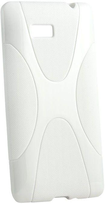 Чехол-накладка New Line X-series Case для Fly IQ4416 White - Фото 1