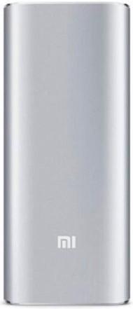 Портативная батарея Xiaomi Mi Power Bank 16000mAh Silver - Фото 1