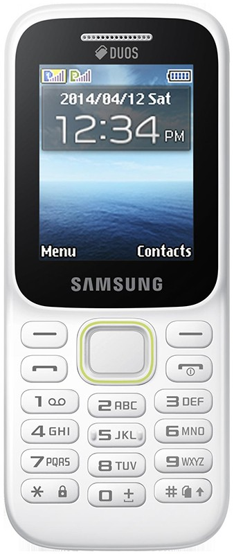 Мобильный телефон Samsung SM-B310E Dual Sim White - Фото 1