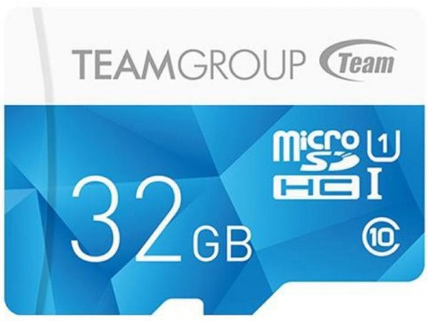 Team microSDHC class10 UHS-1 Color Card 32Gb Blue