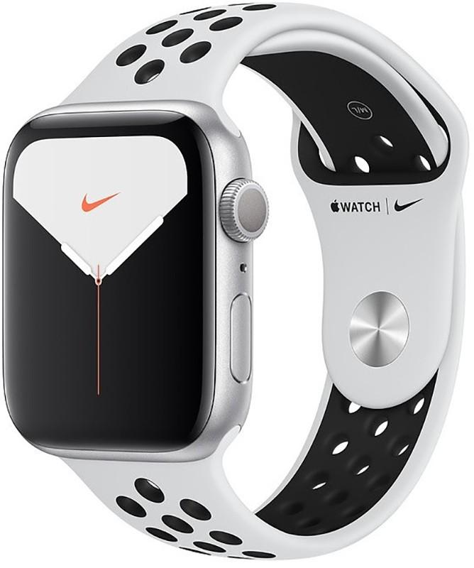Купить Смарт-часы, Apple Watch Nike Series 5 GPS 40mm Silver Aluminum w. Silver Aluminum (MX3R2)