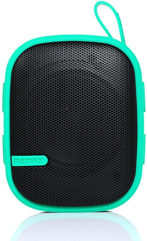 Портативная акустика Remax Outdoor Bluetooth 3.0 Speaker RB-X2 Green - Фото 1