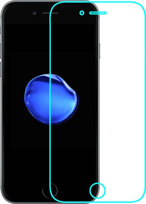 Купить Защитные пленки и стекла, Mocolo 3D Full Cover Tempered Glass iPhone 7 Clear