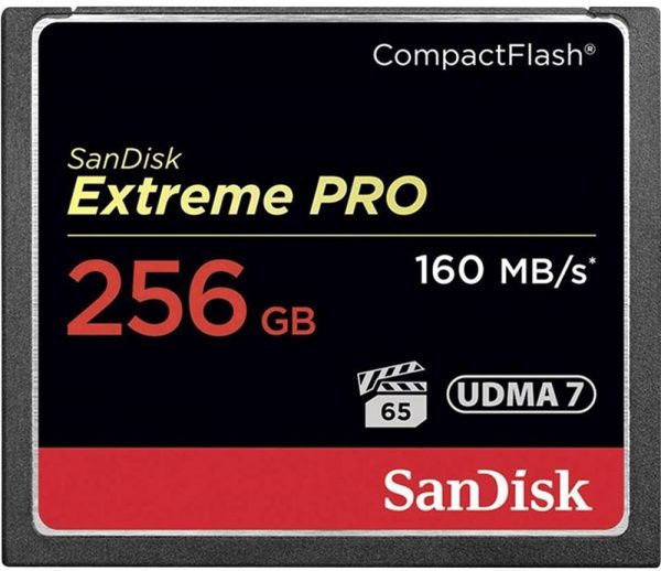 SanDisk CompactFlash Extreme Pro 256GB