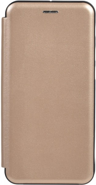TOTO Book Rounded Leather Case Xiaomi Redmi Note 8 Pro Gold