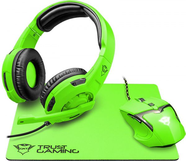 Trust GXT790-SB Spectra Gaming Bundle Green - фото