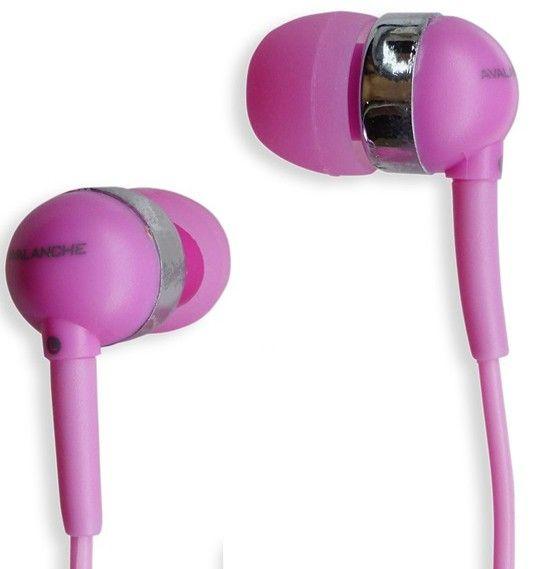 Наушники Avalanche AEF-MP3-382 розовые - Фото 1