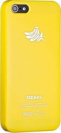 Чехол-накладка Ozaki O!coat Fruit для iPhone 5 Banana - Фото 1