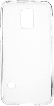 Чехол-накладка Drobak Elastic PU для Samsung Galaxy S5 Mini G800 White
