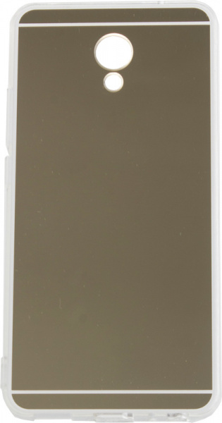 TOTO TPU case Mirror soft Meizu M5 Note Gold - фото
