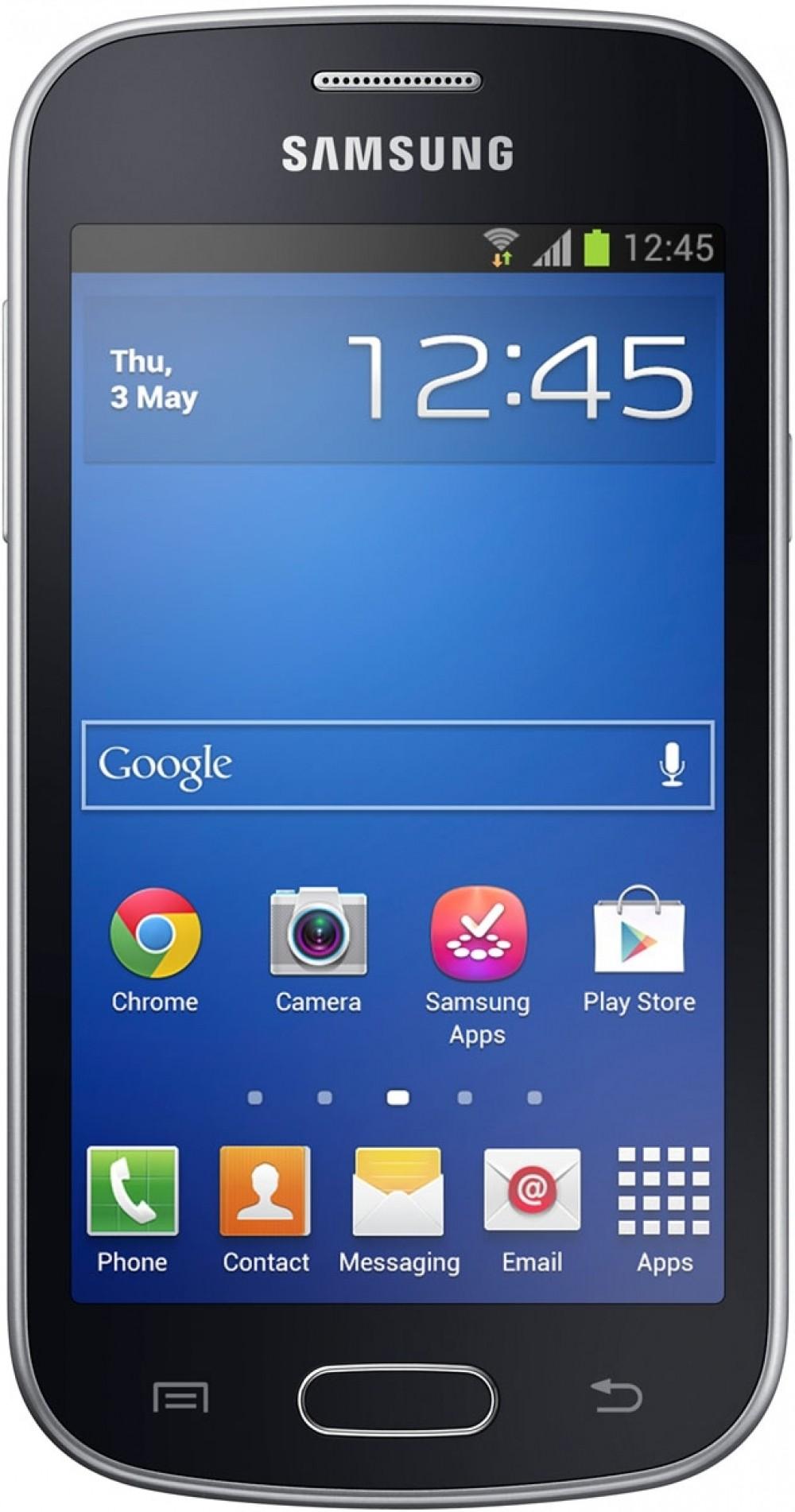 Смартфон Samsung Galaxy Trend S7390 Midnight Black - Фото 1