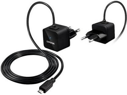 Сетевое зарядное устройство Capdase Universal Power Adapter Atom Plus Micro Black - Фото 1