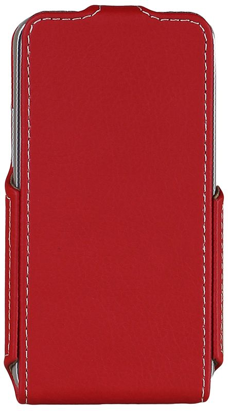 Чехол-флип RedPoint Flip Case для Samsung Galaxy J1 J120/DS Red - Фото 1