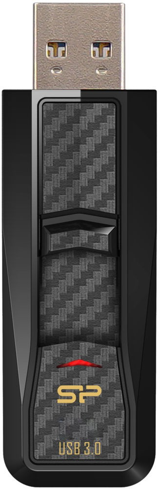 USB Flash Silicon Power Blaze B50 64Gb USB 3.0 Black - Фото 1