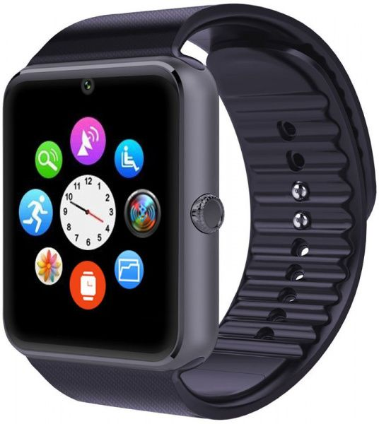 UWatch Smart GT08 Black - фото