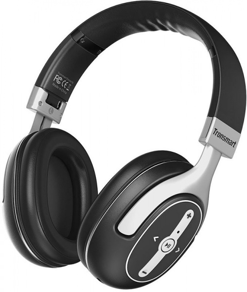 Tronsmart Encore S6 Wired & Wireless ANC Headphone Black - фото