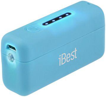 Портативная батарея iBest CS-26 голубой - Фото 1