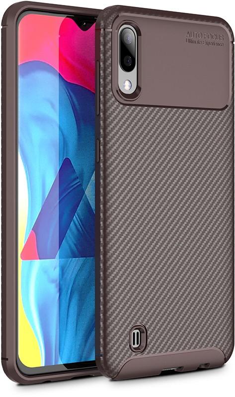 Купить Чехлы для телефонов, TOTO TPU Carbon Fiber 1, 5mm Case Samsung Galaxy M10 Coffee