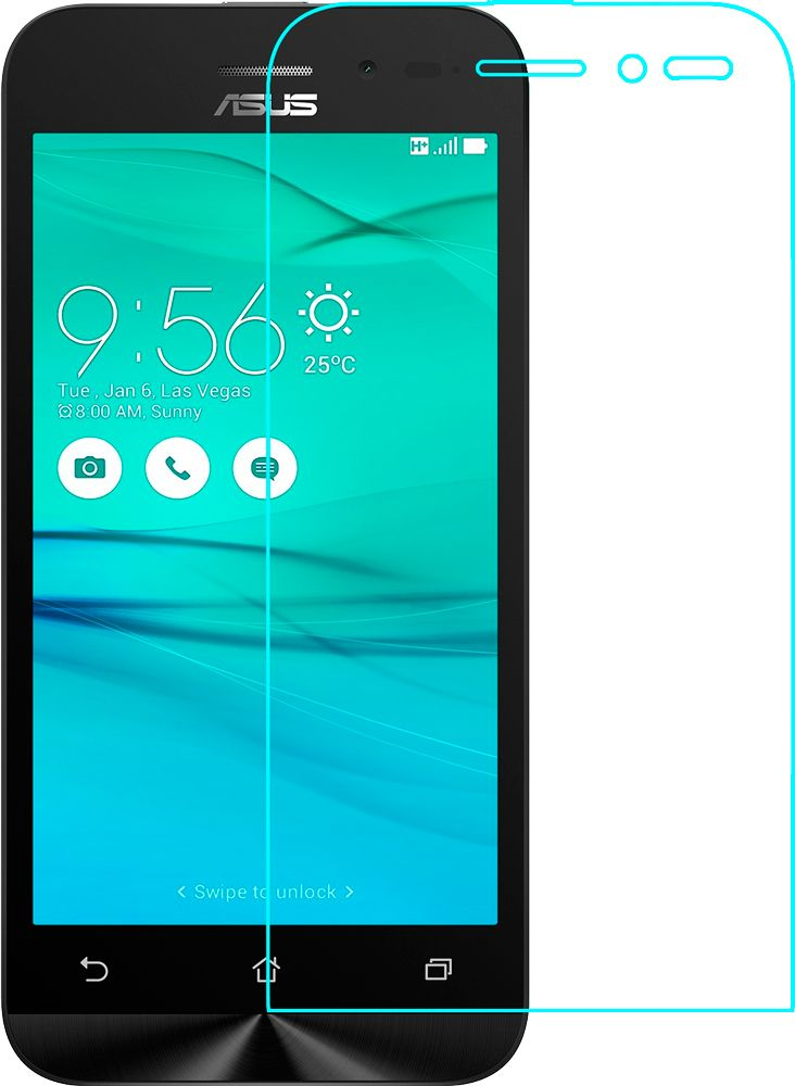 TOTO Hardness Tempered Glass 0.33mm 2.5D 9H HTC 10 EVO