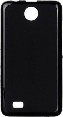 Чехол-накладка NoName Elastic PU для FLY IQ 449 Black - Фото 1