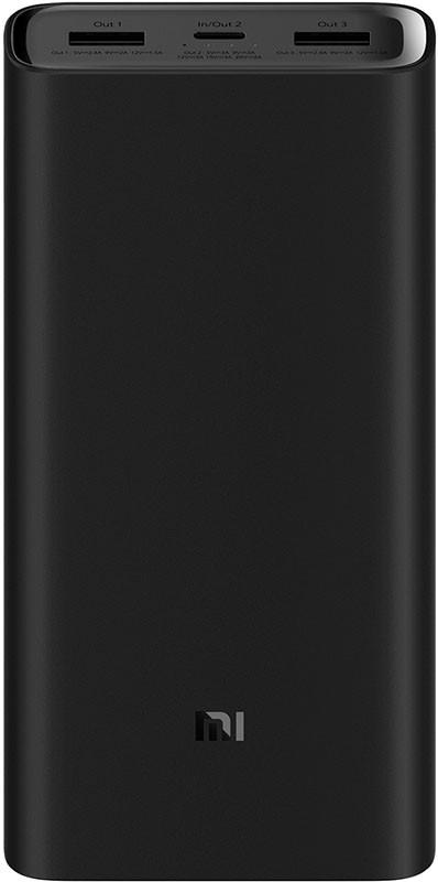 Купить Портативные батареи, Xiaomi Mi Power Bank 3 20000mAh Type-C Black
