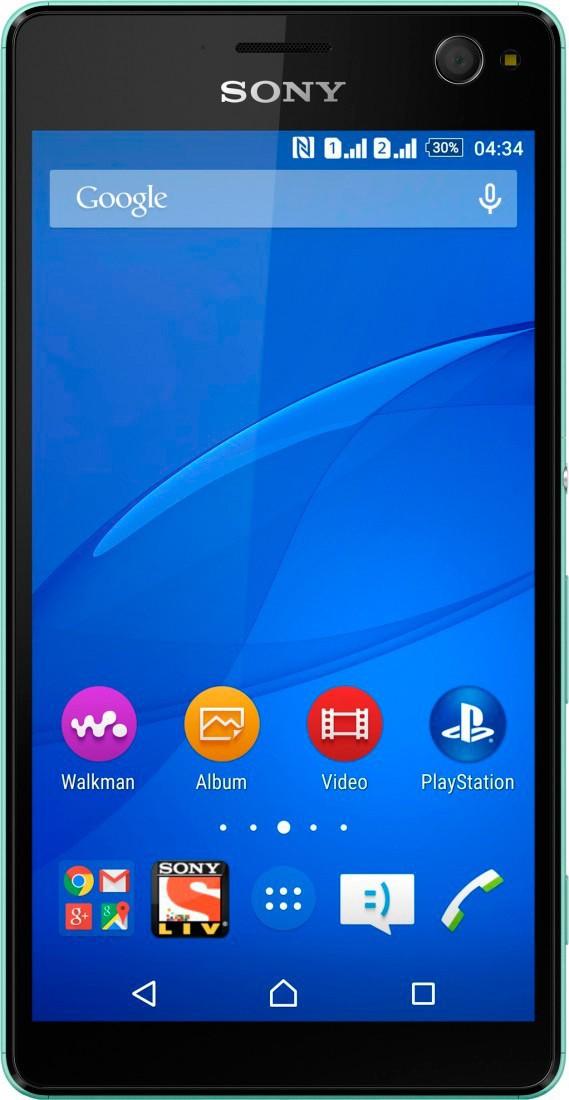 Смартфон Sony Xperia C4 E5333 Mint - Фото 1