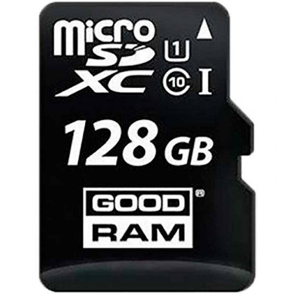 Goodram microSDHC class 10 UHS-1 SD adapter Card reader Type-C 128Gb