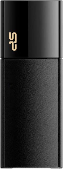 USB Flash Silicon Power Ultima U05 4Gb Black - Фото 1