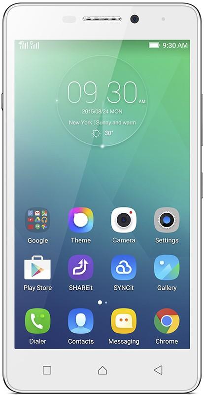 Смартфон Lenovo Vibe P1m Dual White - Фото 1