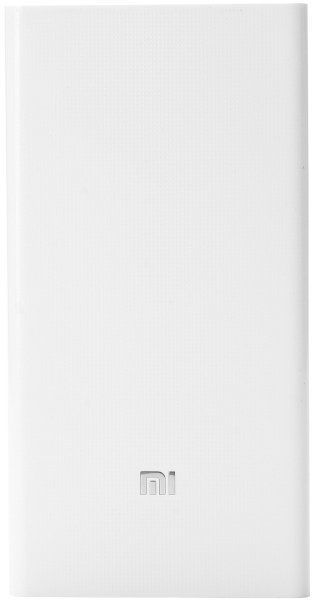 Xiaomi Mi Power Bank 20000mAh White - фото
