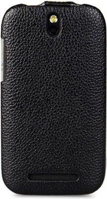 Чехол-флип Melkco Leather Case Jacka для HTC Desire S Black - Фото 1
