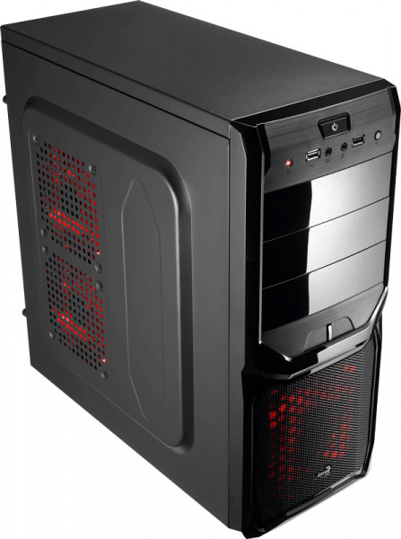 Aerocool PGS V3X Advance Devil Red 550W (4713105954913) - фото