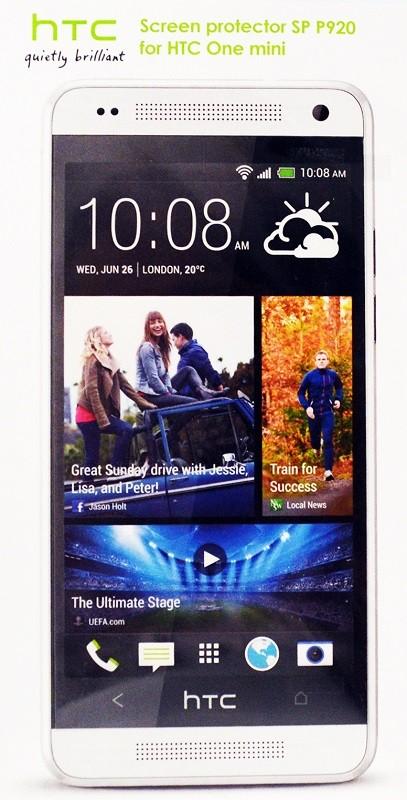Защитная пленка HTC SP P920 HTC One mini clear - Фото 1