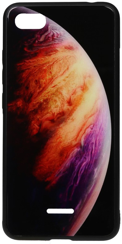 TOTO Print Glass Space Case Xiaomi Redmi 6A Lilac