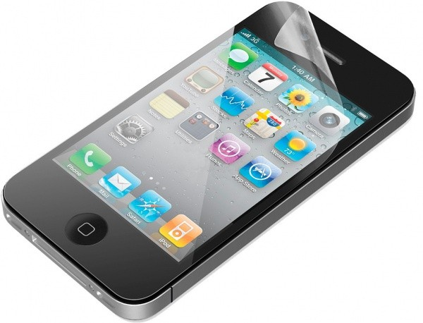 Защитная пленка JUST HQUC-IPF4 Ultra Clear F&B для iPhone 4/4S