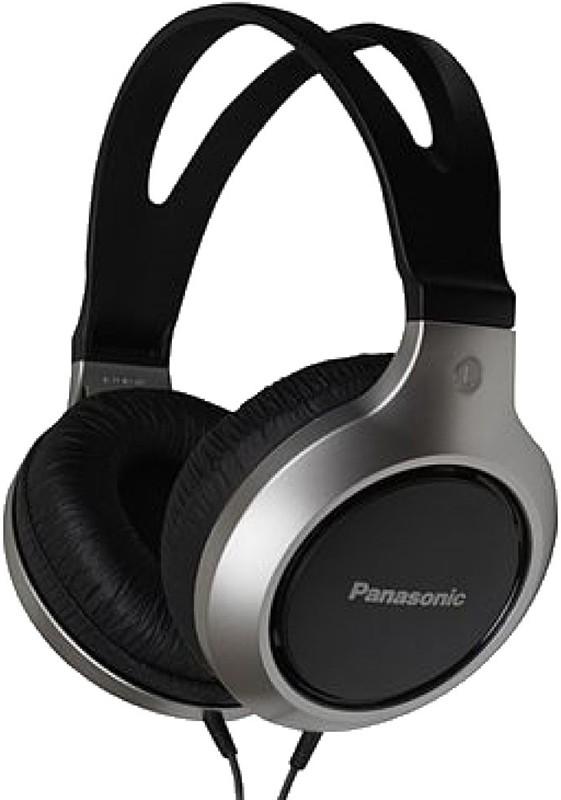 Наушники Panasonic RP-HT211E-S Black/Silver - Фото 1